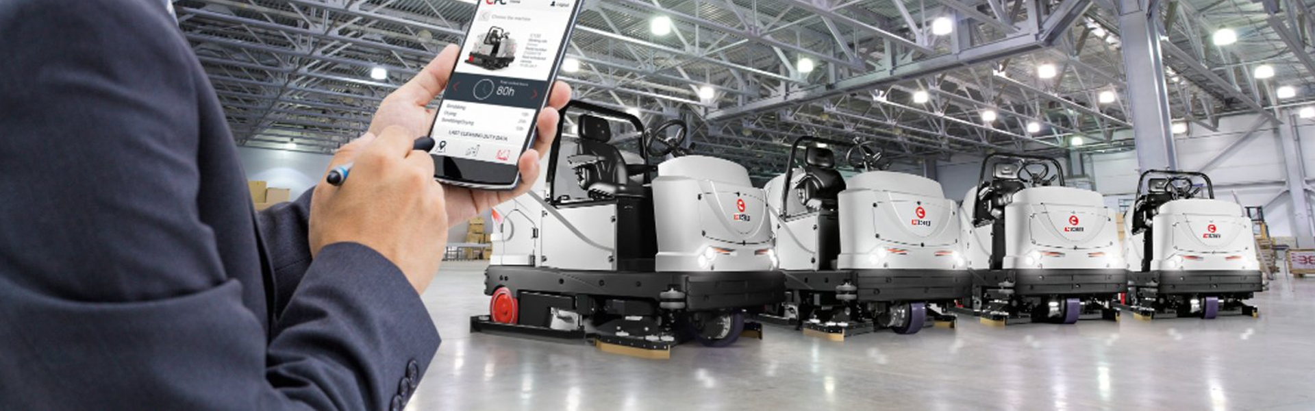 Comac駕駛式自動洗地機