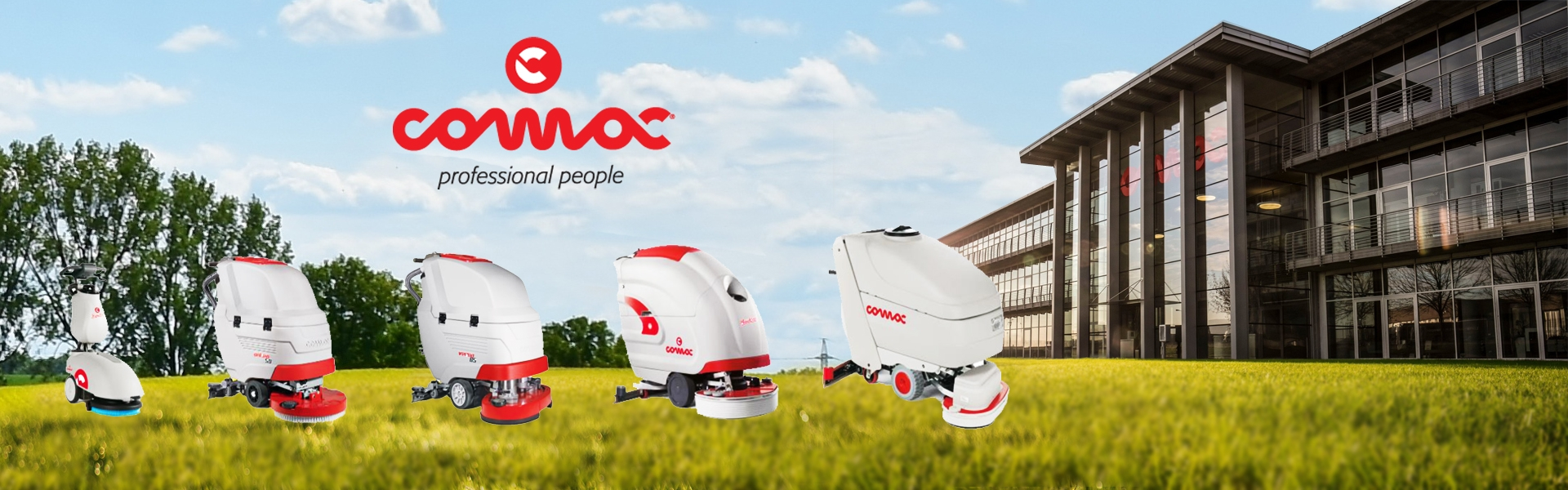 Comac專業洗地機